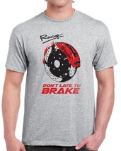 Brake Racing Systems New Men's Gray T-shirt Size S-6XL Limited Design - $19.79