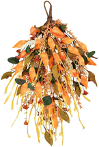 """LSKYTOP Artificial Grain Ears Swag 17.5"""",Fall Swag with Fall Leave and F... - $30.47"""