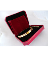 US SELLER! Screw Driver Bracelet Set. YELLOW Gold Plate, Lrg size 21cm 8... - $49.95
