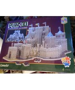 1995 PUZZ 3D CAMELOT 3 Dimensional Jigsaw Puzzle 620 Pieces Difficult Se... - $39.60