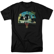 The Munsters Family t-shirt retro 60s comedy TV series graphic tee NBC892 image 1