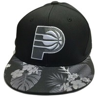 adidas NBA Indiana Pacers Cap, L / XL Men's Hat, Flat Brim, - $17.46