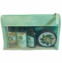 The Body Shop Fuji Tea Tree Travel Set Shower Gel Shampoo Conditioner Butter - $12.86