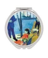 Eugene Henri Paul gauguin : Gift Compact Mirror Famous Oil Painting Art ... - £9.44 GBP