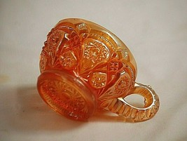 """Antique 1910 Fashion Marigold Carnival by Imperial Glass Ohio 2-1/4"""" Pun... - $29.69"""