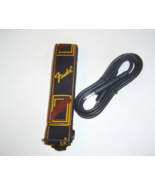 Fender Monogrammed Guitar Strap Strap Black Yellow Brown & Black Amp Cor... - ₨746.33 INR