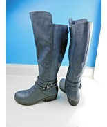 Rampage 6M Tamrah Gray Faux Leather Fashion Boots Size 6M   - $34.64