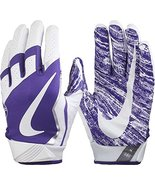 Nike Vapor Jet Gloves 4 (White/Purple, Medium) - $35.27