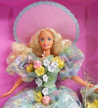 Spring Bouquet Barbie NRFB New in Box Mattel Enchanted Seasons 1994 12989 - $39.99