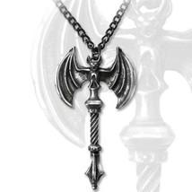 SteamPunk Victorian Alchemy Gothic Skullcrusher Pendant Necklace, NEW UN... - $26.51