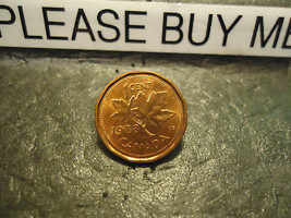 1988 CANADIAN CENT COIN    ****     >> COMBINED SHIPPING  - $1.73