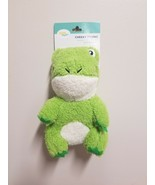 Zippy Paws Cheeky Chumz Frog Squeaky Plush Puppy Dog Toy - £7.05 GBP