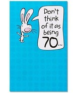 American Greetings Funny 70th Birthday Card With Pop-Up - $12.69