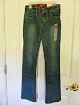 Arizona Jeans Girls Slim Adjustable Waist Bootcut Jeans, Size 7 Slim,  NEW - $17.77