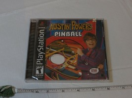 Austin Powers Pinball (Playstation) NEW Video game PS1 Playstation TEEN game NOS - $6.93