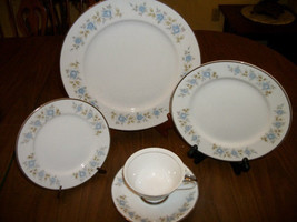 NWOT Lennold Fine China Rhapsody 1812 Five Piece Place Setting Unused  - $28.70
