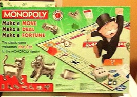 Monopoly Hasbro Original Board Game with The Cat Token Ages 8+ 2-6 Players - $24.75