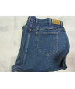 Lee Mom Jeans High Rise Size 22W Med 36 X 28 Womens Vintage Made In USA - $49.99