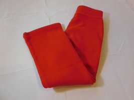 The Children's Place Youth Girl's youth Fleece Pants Bottoms Red Size 5 NWT - $18.33