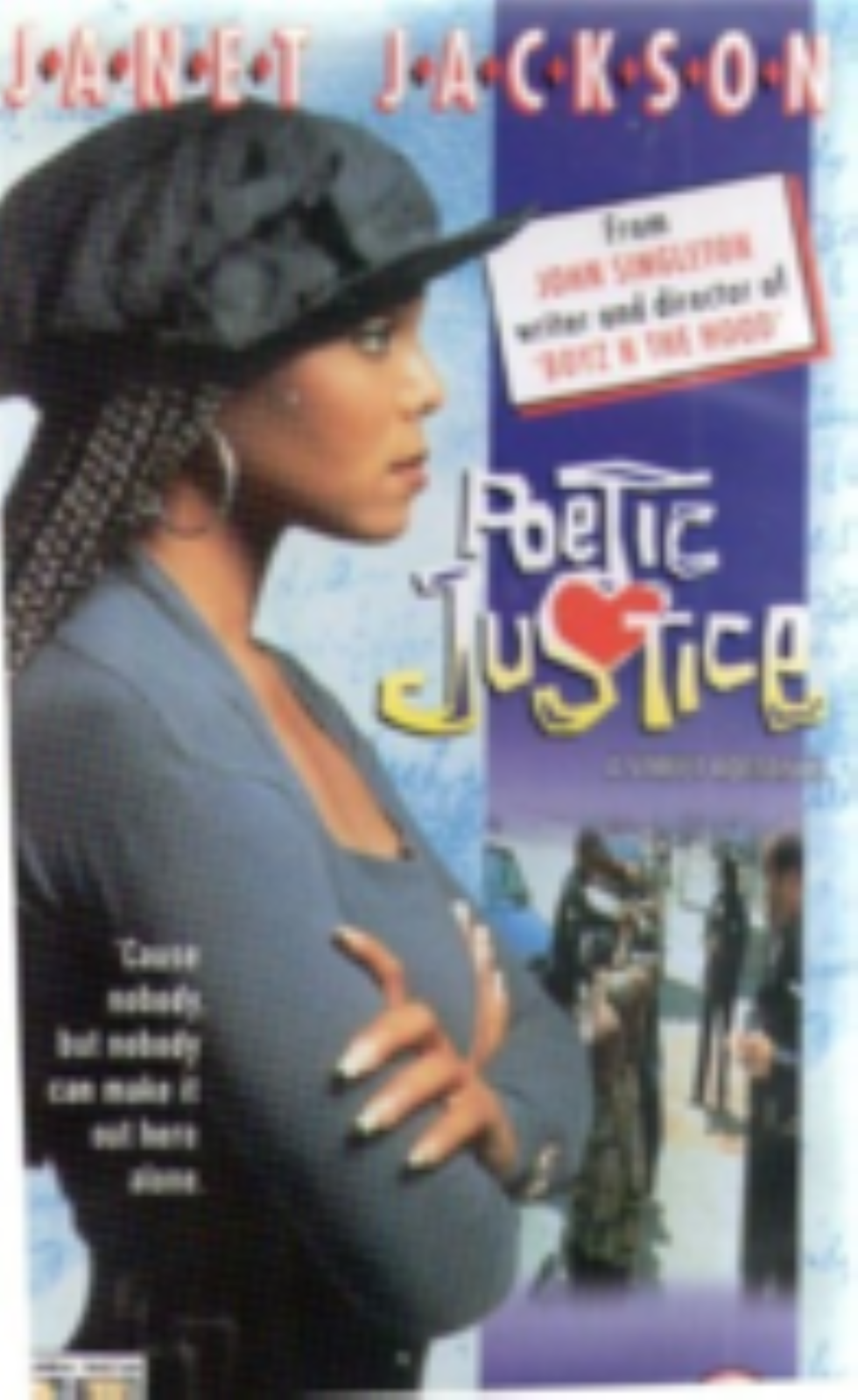 Poetic Justice Vhs