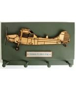Wall Mounted Keychain Holder Rack - Cessna O-1 Bird Dog Reconnaissance A... - $19.75