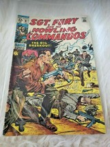 Vintage SGT. Fury And His Howling Commandos Comic Book (1970's) - $11.87