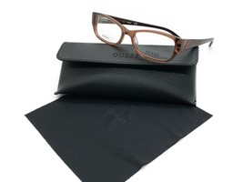 Guess Brown Eyeglasses Frame Remove Demo lenses for RX GU2305 V BRN 52MM - $31.92
