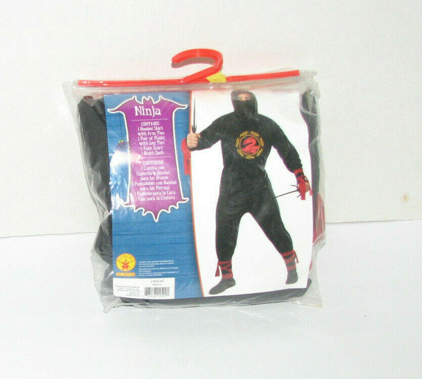 Primary image for Rubies NINJA Costume Mens Size L (36-38)