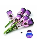 6/7 Pcs Rose Flower Shaped Makeup Brush Sets With Mermaid Brush For Wome... - $5.99+