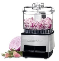 Cuisinart DLC-1SS Mini-Prep Processor Brushed Stainless Steel NEW IN SEALED BOX image 2