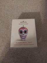 Hallmark Keepsake SUGAR SKULL GUY 2018 Miniature Ornament QFO5273 Halloween - £7.24 GBP