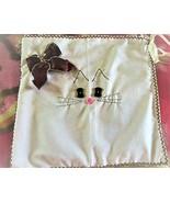 Primitive Hand-Sewn Wall Pocket Bag  - $75.00