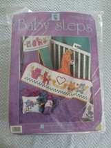 Designs for the Needle BABY STEPS Bright Pastels CROSS STITCH Kit #9101 ... - $20.00