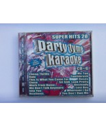 Party Tyme Karaoke: Super Hits, Vol. 28 by Karaoke (CD, Oct-2016, Sybers... - $7.67