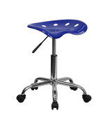 Offex OF-LF-214A-NAUTICALBLUE-GG Vibrant Nautical Blue Tractor Seat and ... - $61.05