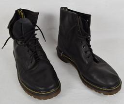 Dr. Martens Boots Black 8 Eye Mens 45 - $103.95