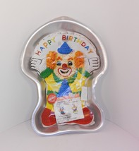 Wilton Juggling Clown Cake Pan with Insert 2105-572 2000 Instructions - $12.86