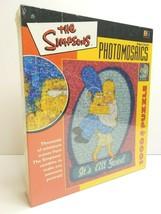 Simpsons It's all Good Photomosaics 1000 Pc Puzzle Homer Marge Cartoon R... - $59.39