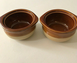SET OF 2 French Onion Soup Bowls, Crock Bowls, Single-Serving without lid - $18.49