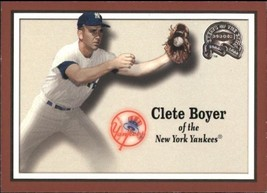 2000 Fleer Greats Of The Game #88 Clete Boyer > New York Yankees - $0.99