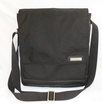 Hartmann Messenger Bag Briefcase Black Nylon Crossbody Tablet Travel Org... - $47.24 CAD