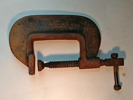 Vintage Jorgensen No. 703 C Clamp, Fat Body, Tools, Automotive - $9.49