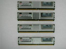 16G 4X4GB Hynix HYMP151F72CP4N3-Y5 Completamente Regulado PC2-5300 2Rx4 De HP