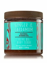 Bath & Body Works Oilve Oil Body Scrub Ginger & Cardamom - $22.71
