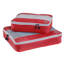 Uncharted Ultra-Lite Packing Cube 2 Piece Set, Cherry -Rip-Stop Silnylon... - $11.98