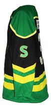 Any Name Number St John's Shamrocks Retro Hockey Jersey Black Rhea Any Size image 5