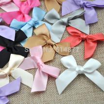 30pcs Satin ribbon bow flower Kid's DIY Party supply Gift - $13.95