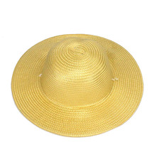 Wide Brim Floppy Plastic Straw Hats Beach Sun Hat Summer Women Man Cap U... - $9.58