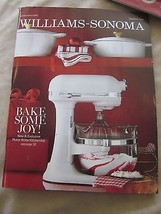 WILLIAMS-SONOMA CATALOG DEC DECEMBER 2015 BAKE SOMEJOY BRAND NEW - $9.99