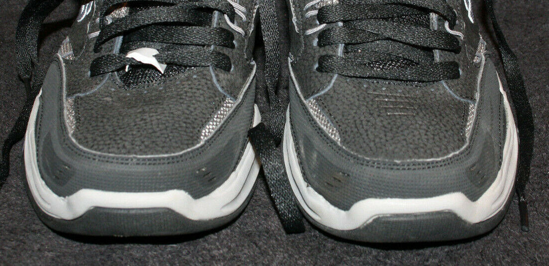 Men's Skechers Black Relaxed Fit Air Cooled Memory Foam Sport Shoes Size 8 image 4